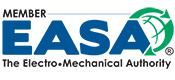 Member of EASA -The Electro Mechanical Authority